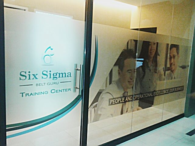 Six sigma belt